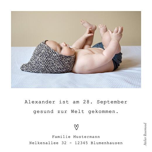 Geburtskarten Meine ersten schritte (mini) weiß - Seite 2