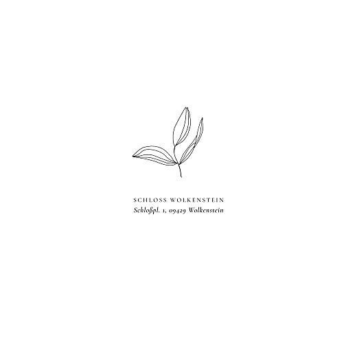 Hochzeitseinladungen Liebesgedicht (quadrat) white - Seite 2