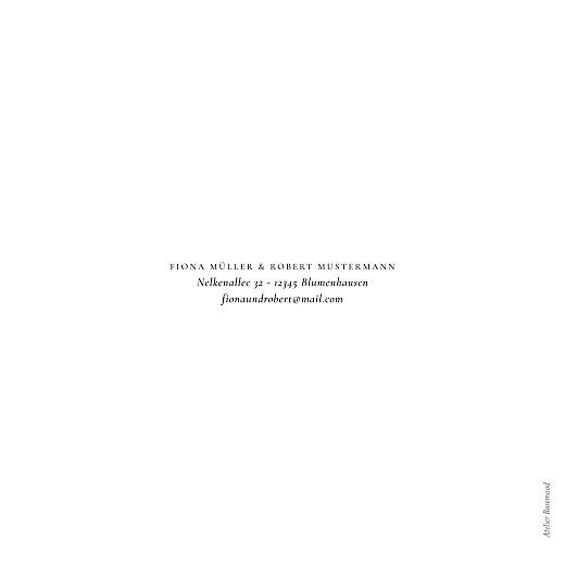 Hochzeitseinladungen Liebesgedicht (quadrat) white - Seite 4
