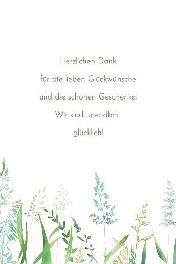 Dankeskarten Sommerwiese (mini) grün - Seite 2