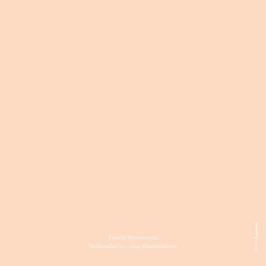 Taufeinladungen Blumenkranz (gold) rosa - Seite 4