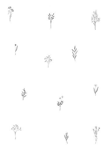 Kirchenheft Taufe Floral minimal grün - Seite 2