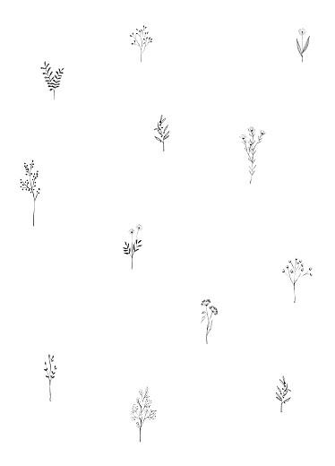 Kirchenheft Taufe Floral minimal grün - Seite 3