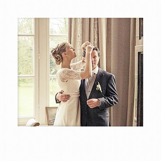 Dankeskarten Hochzeit Polaroid mini (3 fotos) weiß - Seite 2