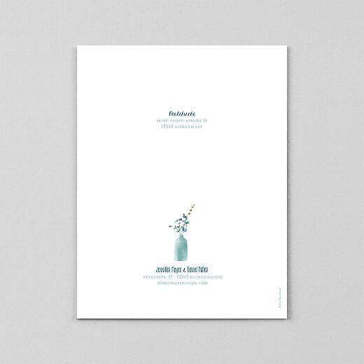 Hochzeitseinladungen Wildblumen (transparentpapier) gelb - Ansicht 3