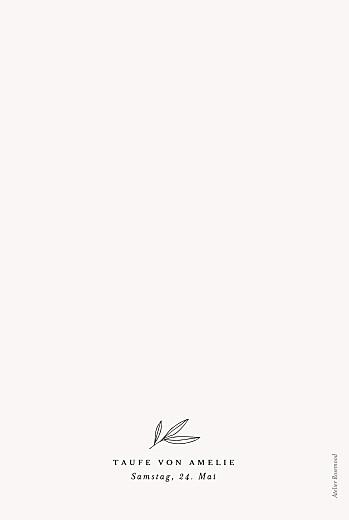 Menükarten Taufe Kleiner sprössling weiß - Seite 2