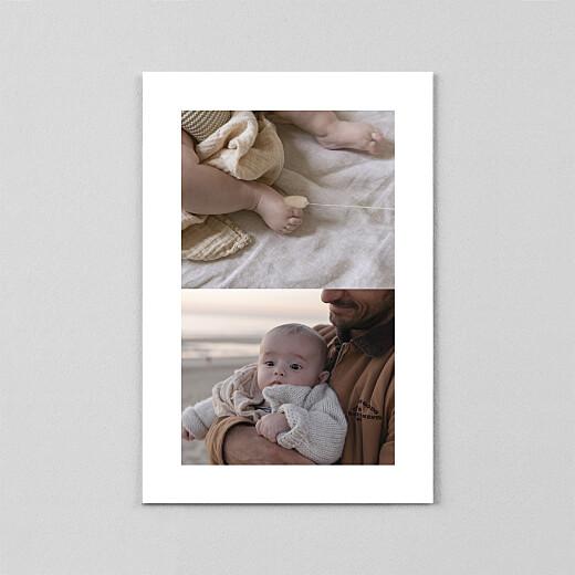 Geburtskarten Zaubergarten (transparentpapier) blau - Ansicht 3