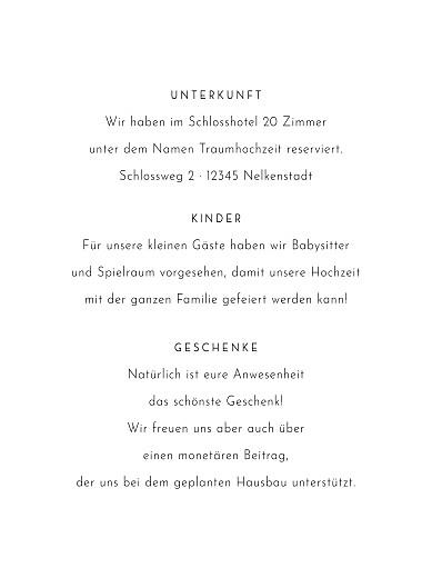 Beilegekarte Blumenbuchstaben weiß - Seite 2