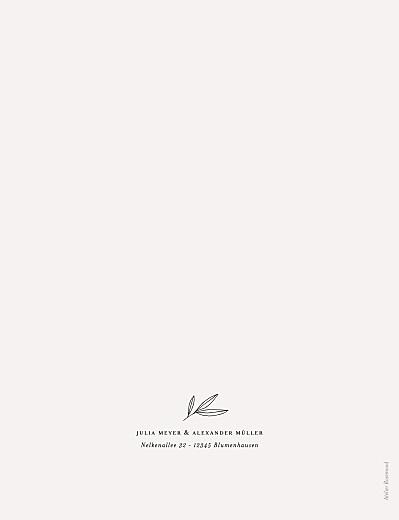 Hochzeitseinladungen Zarter ast (hoch) beige - Seite 2