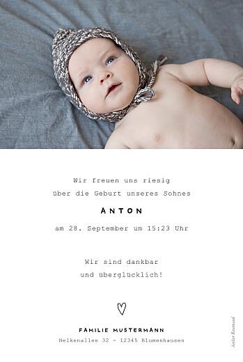 Geburtskarten Familienbande 2 kinder weiß - Seite 2