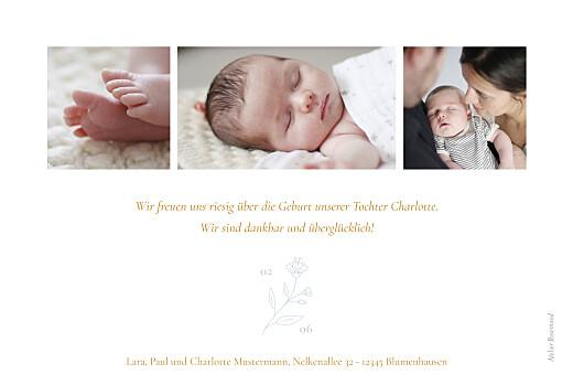 Geburtskarten Lilie gelb - Seite 2
