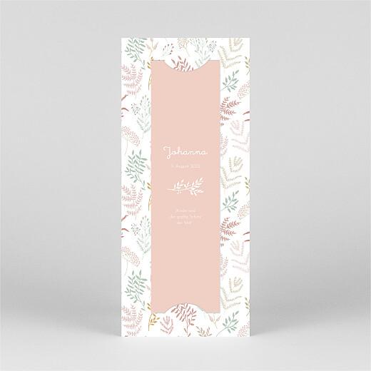 Geburtskarten Liberty blumen (fotostreifen) rosa - Ansicht 3