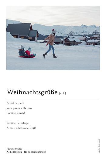 Weihnachtskarten Schreibmaschine (fotos) weiß - Seite 2