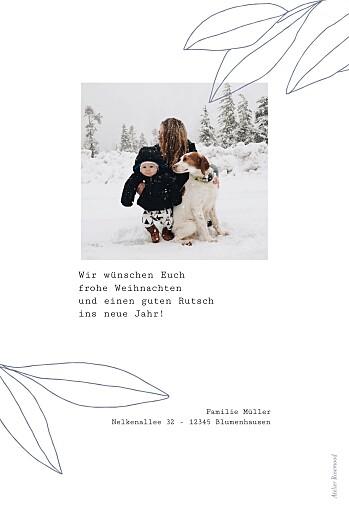 Weihnachtskarten Frühlingsanfang blau - Seite 2