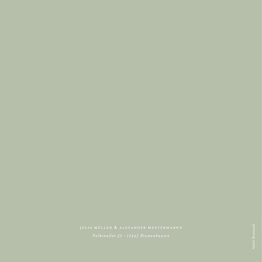 Hochzeitseinladungen Zarter ast (gold) klappkarte grün - Seite 4