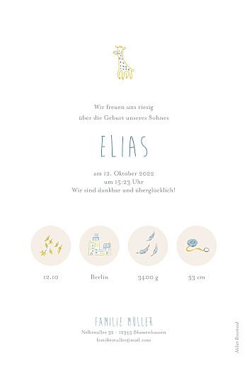 Geburtskarten Deine kleine welt (hoch) farber - Seite 2
