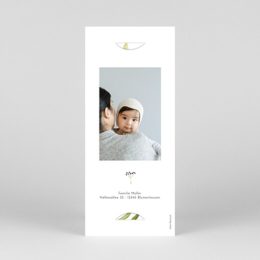 Geburtskarten Vier jahreszeiten (fotostreifen) sommer - Ansicht 4
