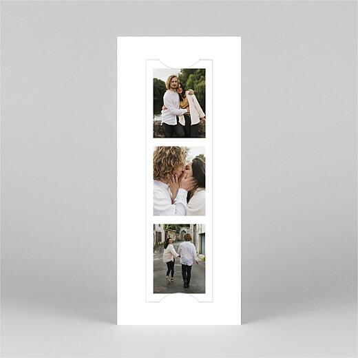 Weihnachtskarten Swing (fotostreifen) weiß - Ansicht 2