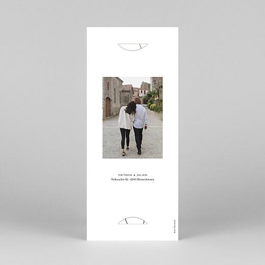 Weihnachtskarten Swing (fotostreifen) weiß - Ansicht 4