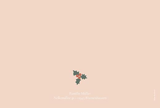 Weihnachtskarten Cottage rosa - Seite 4