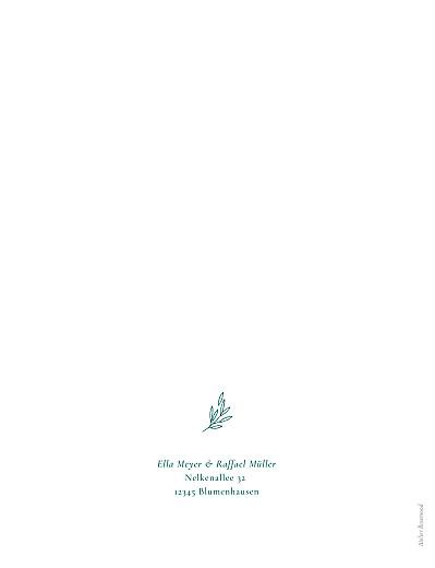 Hochzeitseinladungen Wiesenblume grün - Seite 2