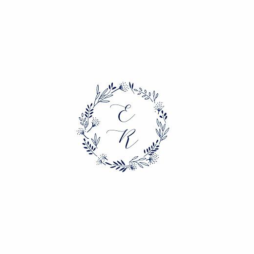 Hochzeitseinladungen Wiesenblume (4 pages) blau - Seite 2