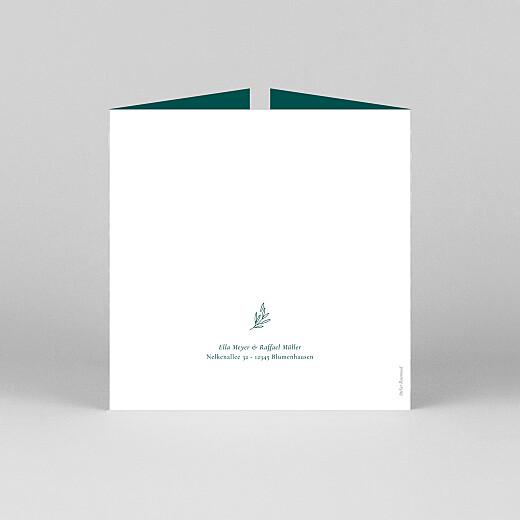 Hochzeitseinladungen Wiesenblume (duo) grün - Ansicht 3