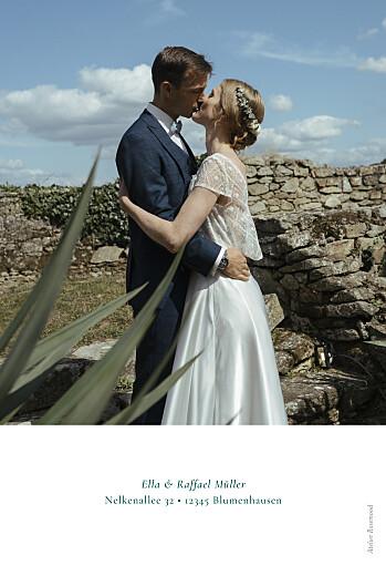 Dankeskarten Hochzeit Wiesenblume grün - Seite 2