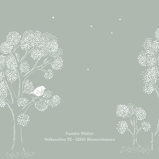 Geburtskarten Gutenachtgeschichte grün - Seite 4