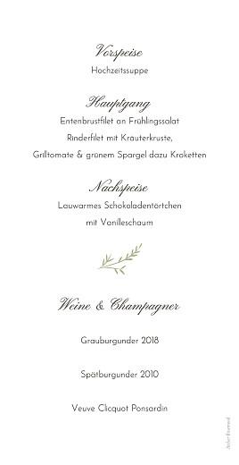 Menükarte Sommerzweige ocre - Seite 2