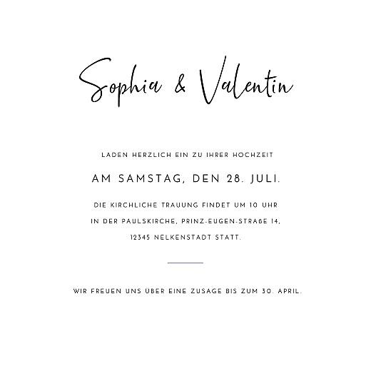 Hochzeitseinladungen Zeitgeist weiß - Seite 3