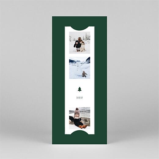 Weihnachtskarten Elegant tannenbaum (duo) grün - Ansicht 2