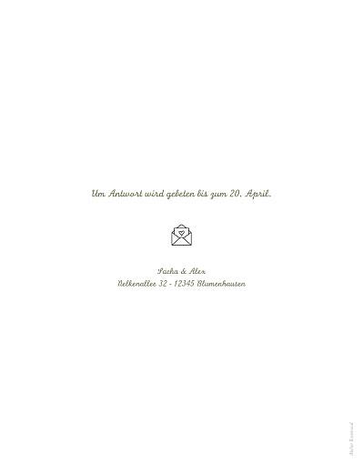 Hochzeitseinladungen Piktogramme (klassisch) weiß - Seite 2