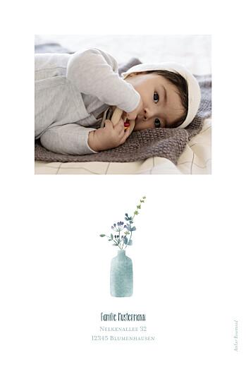 Geburtskarten Wildblumen hoch violett - Seite 2