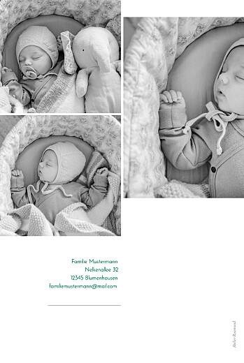 Geburtskarten Pur weiß - Seite 2