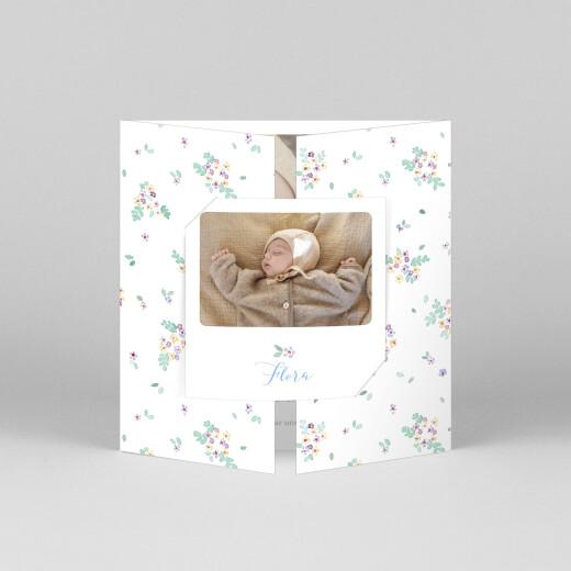 Geburtskarten Frühlingsbote (duo) weiß - Ansicht 1