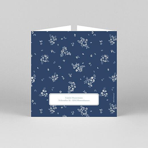 Geburtskarten Frühlingsbote (duo) blau - Ansicht 3