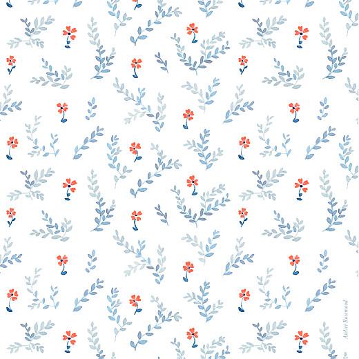 Geburtskarten Frühlingsblümchen (klappkarte) blau - Seite 4