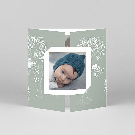 Geburtskarten Gutenachtgeschichte (duo) grün - Ansicht 1