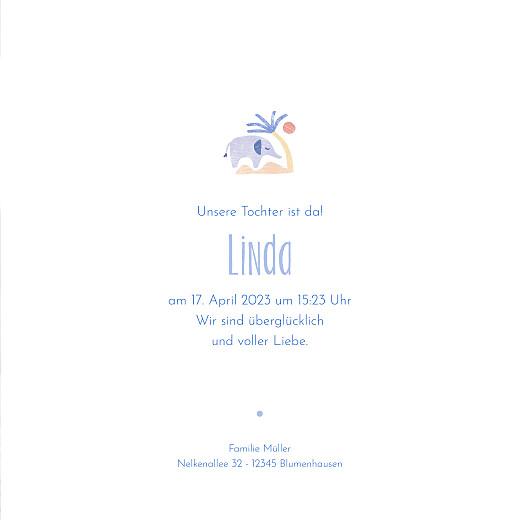 Geburtskarten Wüstentiere (klappkarte) beige - Seite 3