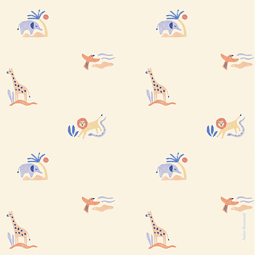Geburtskarten Wüstentiere (klappkarte) beige - Seite 4