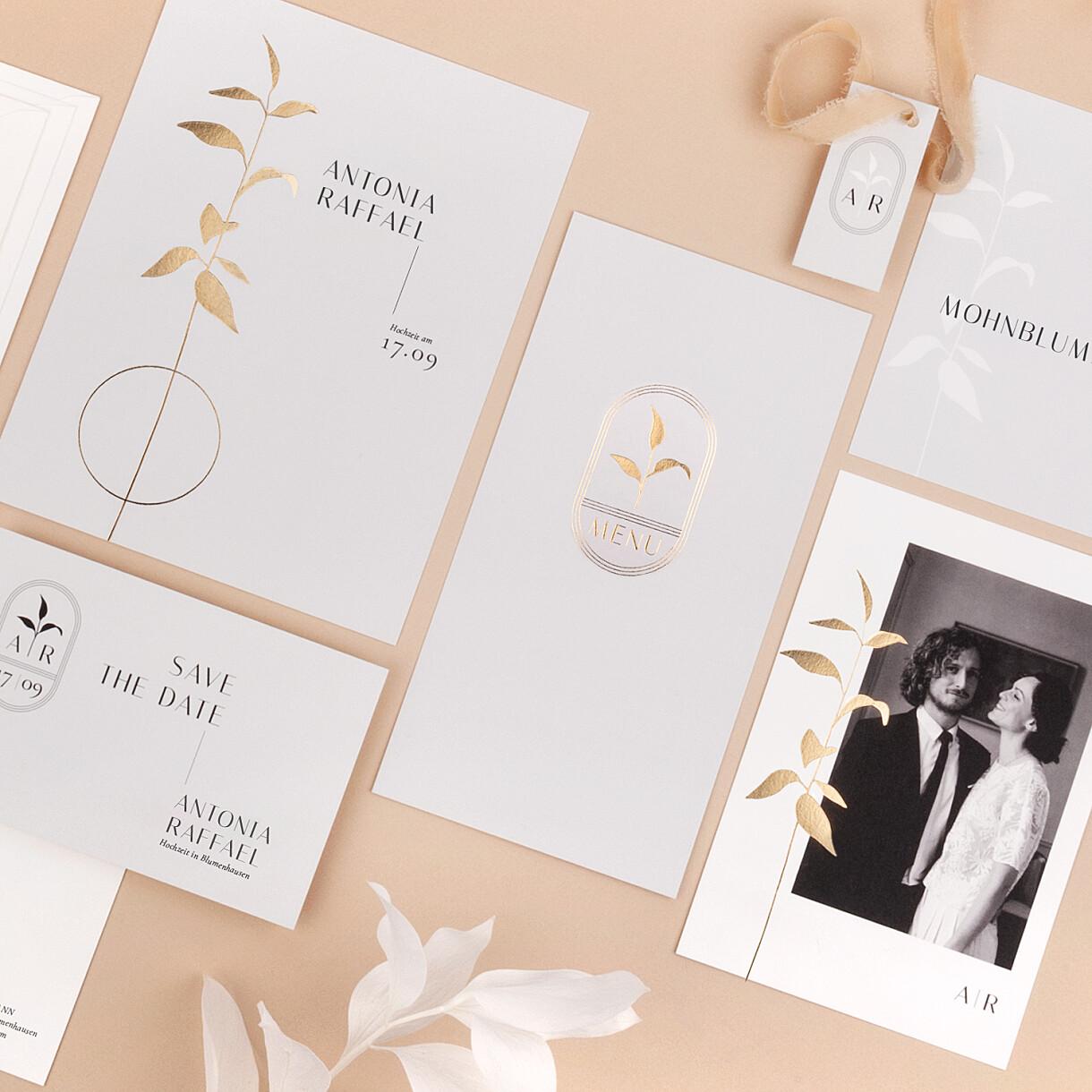 Hochzeitseinladungen ikebana