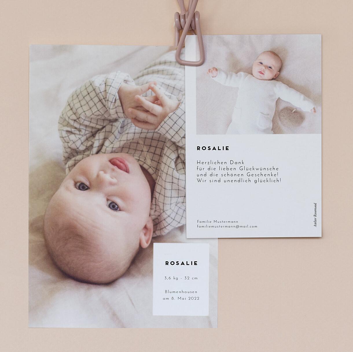 Geburtskarten kartusche